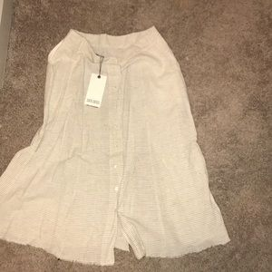 ZARA SKIRT (STRIPED)